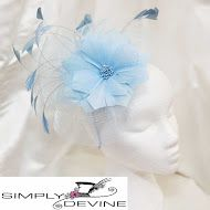 Gorgeous sky blue mother-of-the-bride hatinator SN1264