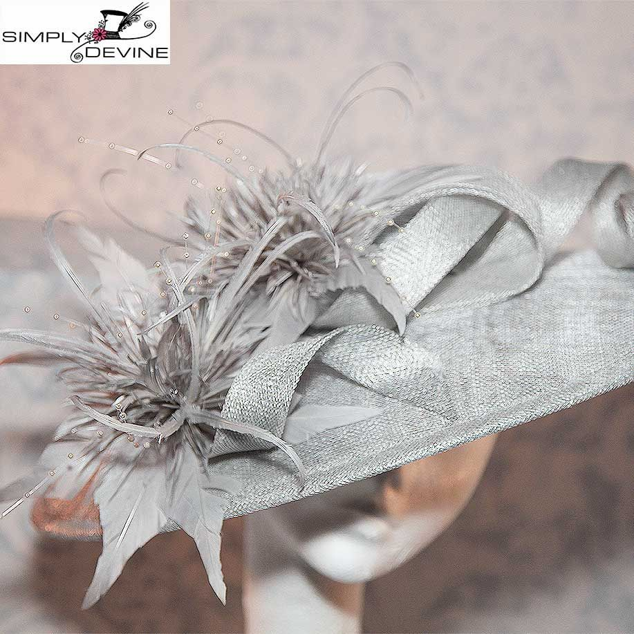 Silver Grey Couture Hatinator NR355 2c50ee6e890